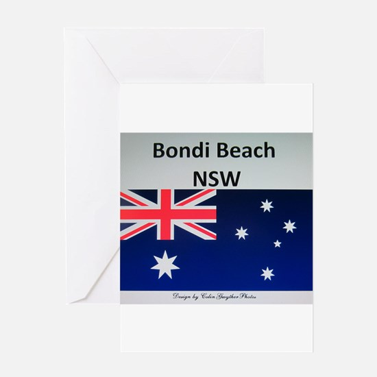 Bondi Beach Merchandise by ColinGwy Greeting Cards