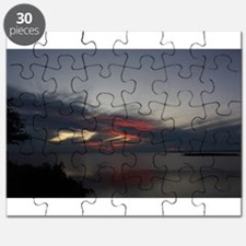 Sunset at Peninsula State Park in Door Coun Puzzle