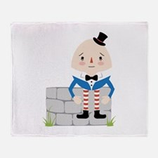 Humpty Dumpty Throw Blanket