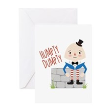 Humpty Dumpty Greeting Cards