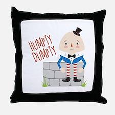 Humpty Dumpty Throw Pillow