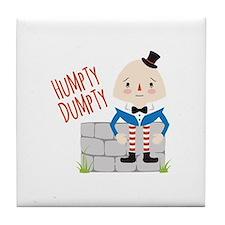 Humpty Dumpty Tile Coaster