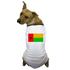 Guinea Bissau Flag Dog T-Shirt