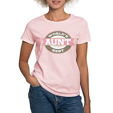 Cute Worlds Best Aunt T-Shirt