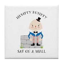 Sat On A Wall Tile Coaster