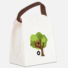 Tree House Canvas Lunch Bag