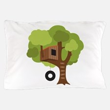 Tree House Pillow Case