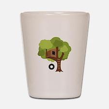 Tree House Shot Glass