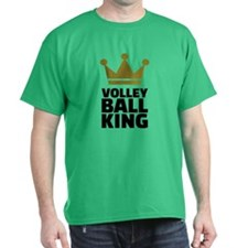 Volleyball king crown T-Shirt