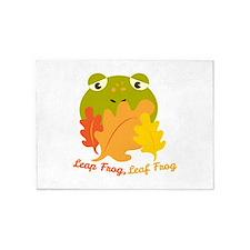 Leaf Frog 5'x7'Area Rug