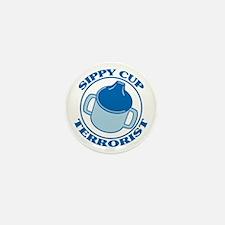 Sippy Cup Terrorist Mini Button