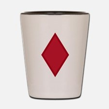 5th Infantry Division Insignia Shot Glass