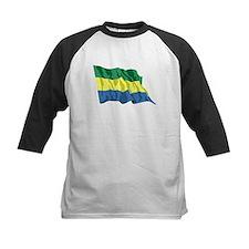 Gabon Flag Baseball Jersey