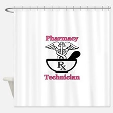 P tec2.png Shower Curtain