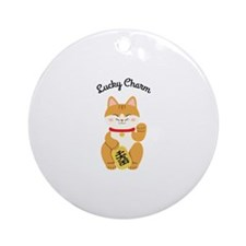 Lucky Charm Ornament (Round)