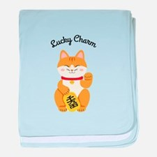 Lucky Charm baby blanket