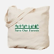 Save Our Forests, Environment Tote Bag
