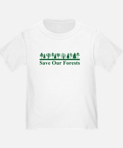 Save Our Forests, Environment Infant T-Shirt
