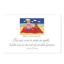 The Sea casts its Spell Postcards (Package of 8)