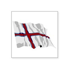 Faroe Islands Flag Sticker