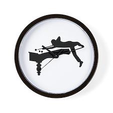 Billiards player Wall Clock