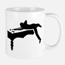 Billiards player Mug