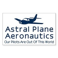 Astral Plane Aeronautics Rectangle Decal