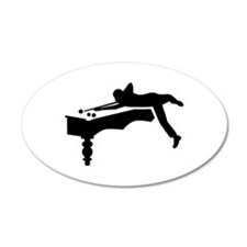 Billiards player Wall Decal