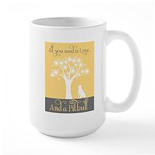 Love and a Pitbull Mugs