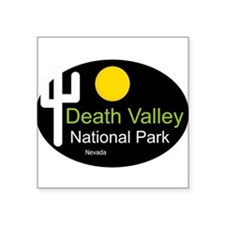 "Cute Death valley national park Square Sticker 3"" x 3"""