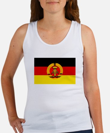 East Germany Flag Tank Top
