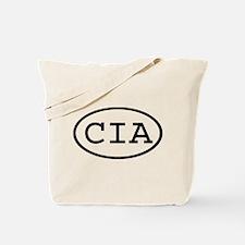 CIA Oval Tote Bag