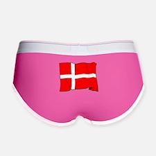 Denmark Flag Women's Boy Brief