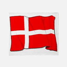 Denmark Flag Throw Blanket