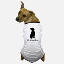 Rottweiler Silhouette Dog T-Shirt