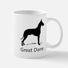 Great Dane Silhouette Mugs