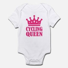 Cycling queen champion Infant Bodysuit