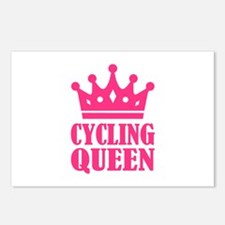 Cycling queen champion Postcards (Package of 8)