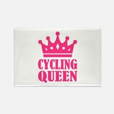 Cycling queen champion Rectangle Magnet (10 pack)
