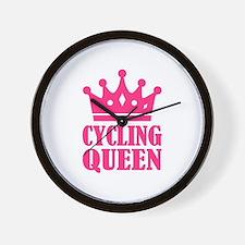Cycling queen champion Wall Clock