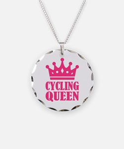 Cycling queen champion Necklace