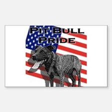 Brindle Pride Rectangle Decal
