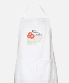 Time To Meditate Apron
