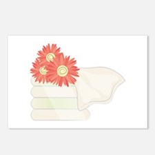 Floral Towels Postcards (Package of 8)