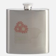Floral Towels Flask