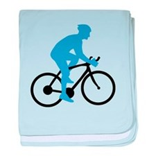Bicycle Cycling baby blanket