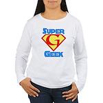 Super Geek Women's Long Sleeve T-Shirt