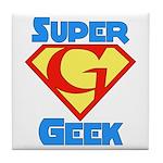 Super Geek Tile Coaster