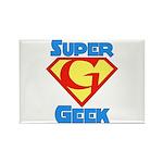 Super Geek Rectangle Magnet (10 pack)