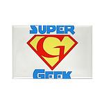 Super Geek Rectangle Magnet (100 pack)
